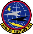 STICKER USAF 349TH AIR REFUELING SQUADRON