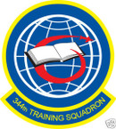 STICKER USAF 344TH TRAINING SQUADRON