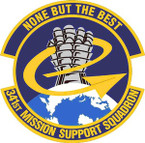 STICKER USAF 341ST MISSION SUPPORT SQUADRON
