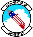 STICKER USAF 336th FIGHTER SQUADRON