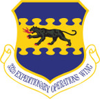 STICKER USAF 332ND AIR EXPEDITIONARY WING