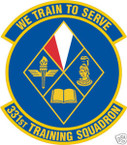 STICKER USAF 331ST TRAINING SQUADRON
