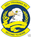 STICKER USAF 322ND TRAINING SQUADRON