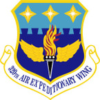 STICKER USAF 320TH AIR EXPEDITIONARY WING