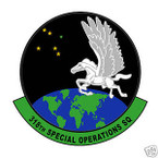 STICKER USAF 318TH SPECIAL OPERATIONS SQUADRON