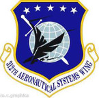 STICKER USAF 312 Aeronautical Systems Wing Emblem