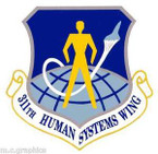 STICKER USAF 311th Human Systems Wing Emblem
