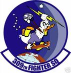 STICKER USAF 309TH FIGHTER SQUADRON DECAL