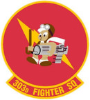 STICKER USAF 303rd FIGHTER SQUADRON