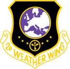 STICKER USAF 2ND WEATHER WING