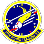 STICKER USAF 25TH FLYING TRAINING SQUADRON