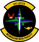 STICKER USAF 241ST ATCS