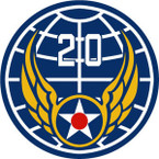 STICKER USAF 20th Army Air Force