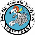 STICKER USAF 20th TASS