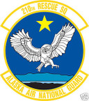 STICKER USAF 210TH RESCUE SQUADRON