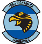 STICKER USAF 195th Fighter Squadron