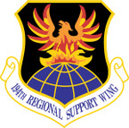 STICKER USAF 194TH REGIONAL SUPPORT WING