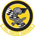 STICKER USAF 190TH FIGHTER SQUADRON