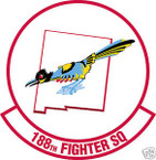 STICKER USAF 188TH FIGHTER SQUADRON