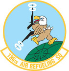 STICKER USAF 186th Air Refueling Squadron