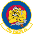 STICKER USAF 179TH FIGHTER SQUADRON