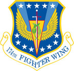 STICKER USAF 174TH FIGHTER WING