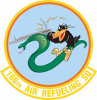 STICKER USAF 166th Air Refueling Squadron