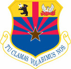 STICKER USAF 161st Air Refueling Wing