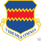 STICKER USAF 155TH WING