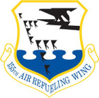STICKER USAF 155TH AIR REFUELING WING
