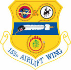 STICKER USAF 153rd Airlift Wing