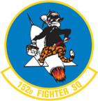 STICKER USAF 152nd FIGHTER SQUADRON