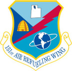 STICKER USAF 151ST AIR REFUELING WING