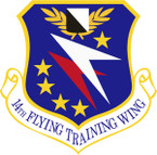 STICKER USAF 14TH FLYING TRAINING WING