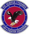 STICKER USAF 149th Fighter Squadron