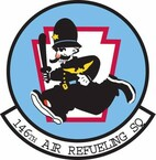 STICKER USAF 146th Air Refueling Squadron