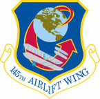 STICKER USAF 145th Airlift Wing