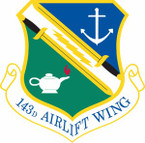 STICKER USAF 143rd Airlift Wing