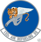 STICKER USAF 132ND AIR REFUELING SQUADRON