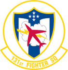 STICKER USAF 131st FIGHTER SQUADRON