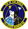STICKER USAF 12th SPACE WARNING SQUADRON