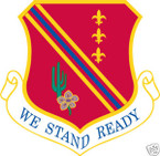 STICKER USAF 127TH WING
