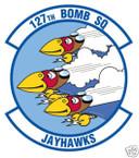 STICKER USAF 127TH BOMB SQUADRON