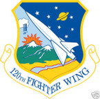 STICKER USAF 120TH FIGHTER WING