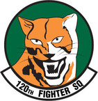 STICKER USAF 120TH FIGHTER SQUADRON