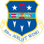 STICKER USAF 109th Airlift Wing