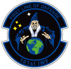 STICKER USAF 101ST IFW