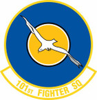 STICKER USAF 101st Fighter Squadron