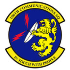 STICKER USAF 100TH COMMUNICATIONS SQ