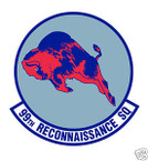 STICKER USAF  99TH Reconnaissance Squadron